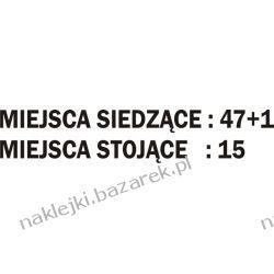 Naklejka Miejsca 47+1