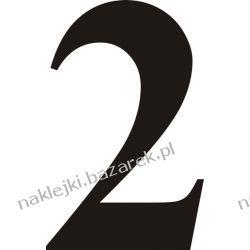 Naklejka - Cyfra 2 do nr rozpoznawczych