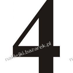 Naklejka - Cyfra 4 do nr rozpoznawczych