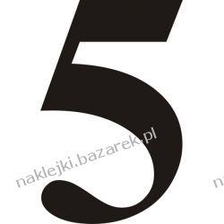 Naklejka - Cyfra 5 do nr rozpoznawczych