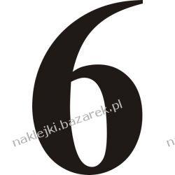 Naklejka - Cyfra 6 do nr rozpoznawczych