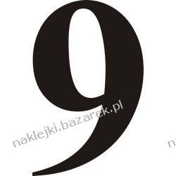 Naklejka - Cyfra 9 do nr rozpoznawczych