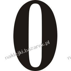 Naklejka - Cyfra 0 do nr rozpoznawczych