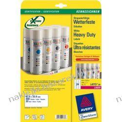 Samoprzylepne etykiety do drukarki laserowej AVERY L4773-20