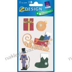 Naklejka 3D dla dzieci AVERY 52599 - BOŻE NARODZENIE