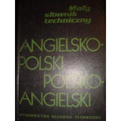 MAŁY SŁOWNIK TECHNICZNY ANG-POL I  POL-ANG_A1