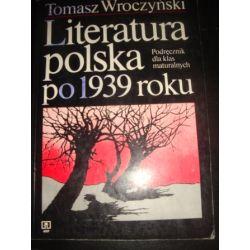 LITERATURA POLSKA PO 1939 - T. WROCZYŃSKI _A3