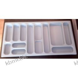 wkład na sztućce do szuflady 100 91,5x46,5 szary do szuflad typu BLUM Tandembox, GTV Modernbox