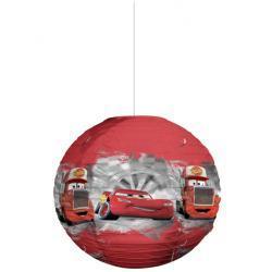 AUTA Disney CARS abażur papierowy klosz kulisty lampion