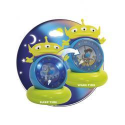 TOY STORY zegar z lampką wskazującą dziecku porę snu