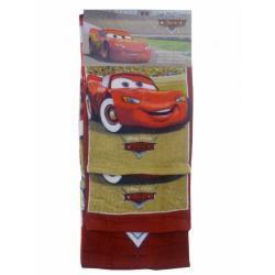 AUTA CARS - 3 ręczniki zestaw