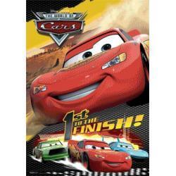 plakat trójwymiarowy AUTA Disney CARS
