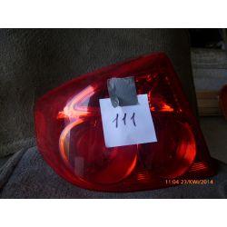 INFINITI G35 2004 USA LAMPA TYLNA LEWA