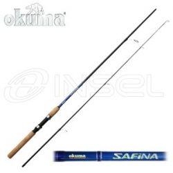 WĘDKA OKUMA SAFINA SPINNING SF-S-702L 2.10m 5-20g...