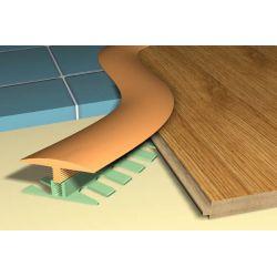 Profil podłogowy do łuków STEPFLEX C 15-18mm - równy poziom - listwa podłogowa 3 m...