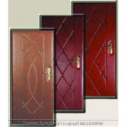 Tapicerka drzwiowa wzór: elipsy szerokość: 95 cm rodzaj materiału: skóropodobny...