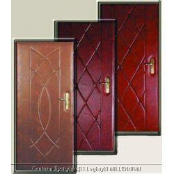 Tapicerka drzwiowa  wzór: elipsy szerokość: 105 cm rodzaj materiału: skóropodobny...