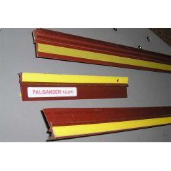 Listwa dylatacyjna PCV do ościeżnic okiennych bez siatki 9mm / 7mm L=2,5m kolor: palisander RAL8012...