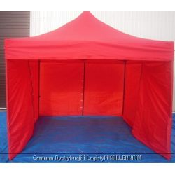 Namiot handlowy ekspresowo rozkładny 3x6m czerwony...