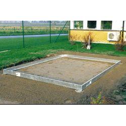 Szklarnia ogrodowa Juliana Solargrow 450 - Fundament wymiar: 224x197cm ...