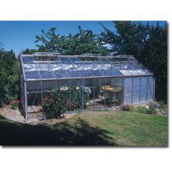 Szklarnia Gardener - Ogrodnik 36 m2 (srebrna, szkło 3mm) ...