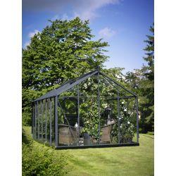 Szklarnia ogrodowa Juliana Premium 1300 wymiar: 439 x 296 rama antracyt szkło ogrodnicze...