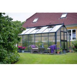 Szklarnia ogrodowa Juliana Premium 1300 wymiar: 439 x 296 rama antracyt  6 mm poliwęglan...