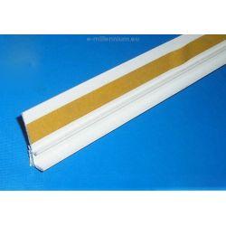 Listwa PCV przyokienna - do ościeżnic okiennych - dylatacyjna 6mm 2,5 mb - opakowanie 100 sztuk...