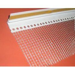 Listwa PCV przyokienna - do ościeżnic okiennych - dylatacyjna 9mm z siatką 10 cm 2,5 mb - opakowanie 100 sztuk...
