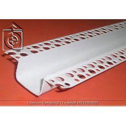 Listwa PCV do boniowania H=3cm L=3mb - bonia elewacyjna 3cm pakiet 100 sztuk...