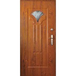 Drzwi stalowe z przeszkleniem HAWAJE...