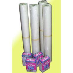 Fizelina tapeta sufitowa flizelina włóknina malarska 8x50mb + klej 1kg 8szt ...