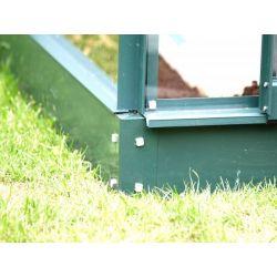 Fundament do szklarnii ogrodowej  Vitavia Diana 9900 srebrna wymiar: 3.83m x 2.57m...