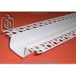 Listwa PCV do boniowania H=3cm L=3mb - bonia elewacyjna 3cm - pakiet 20 sztuk...