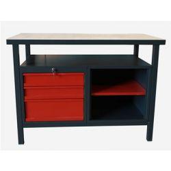Stół warsztatowy z 3 szufladami...