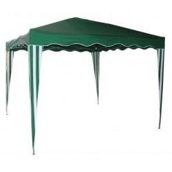 Pawilon ogrodowy aluminiowy 3x3m - zielonyPawilon ogrodowy aluminiowy 3x3m - zielony...