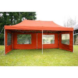Pawilon ogrodowy 3x6 m + ścianki - pomarańcz...