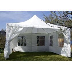 Pawilon ogrodowy 4x4 m - biały...
