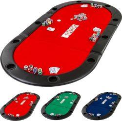 Mata do gry w pokera - czerwony...