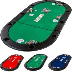 Mata do gry w pokera - zielona...