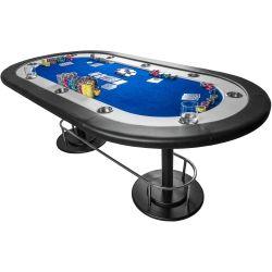 """Stół do pokera """" Full House """" - niebieski..."""