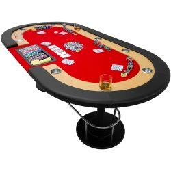 """Stół do pokera """" Full House """" - czerwony..."""