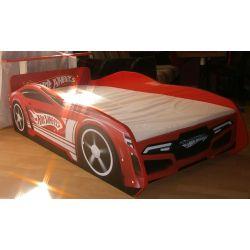 Łóżko parterowe samochód