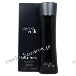 Giorgio Armani Black Code EDT - 125 ml