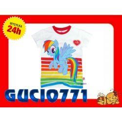 Bluzka T-shirt MY LITTLE PONY r. 116-122 czerwona