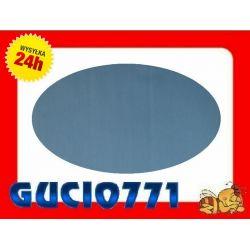 SATYNA Prześcieradło bez gumki 160x200 -niebieskie