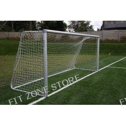 Bramka do piłki nożnej stacjonarna aluminiowa 5x2m