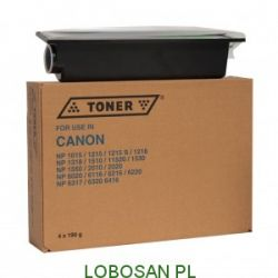 TONER IPM DO CANON NP1015/1215/1218/1318/1510/1520/1530/1550 4x190g...