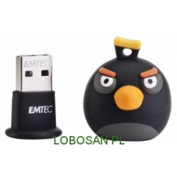 Emtec pamięć 8GB USB 2.0 Black Bird ,|15MB/5MB/s| seria Angry Birds...
