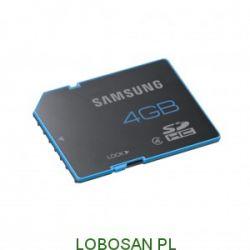Samsung karta pamięci SDHC 4GB Class 4 Standard (transfer up to 24MB/s)...